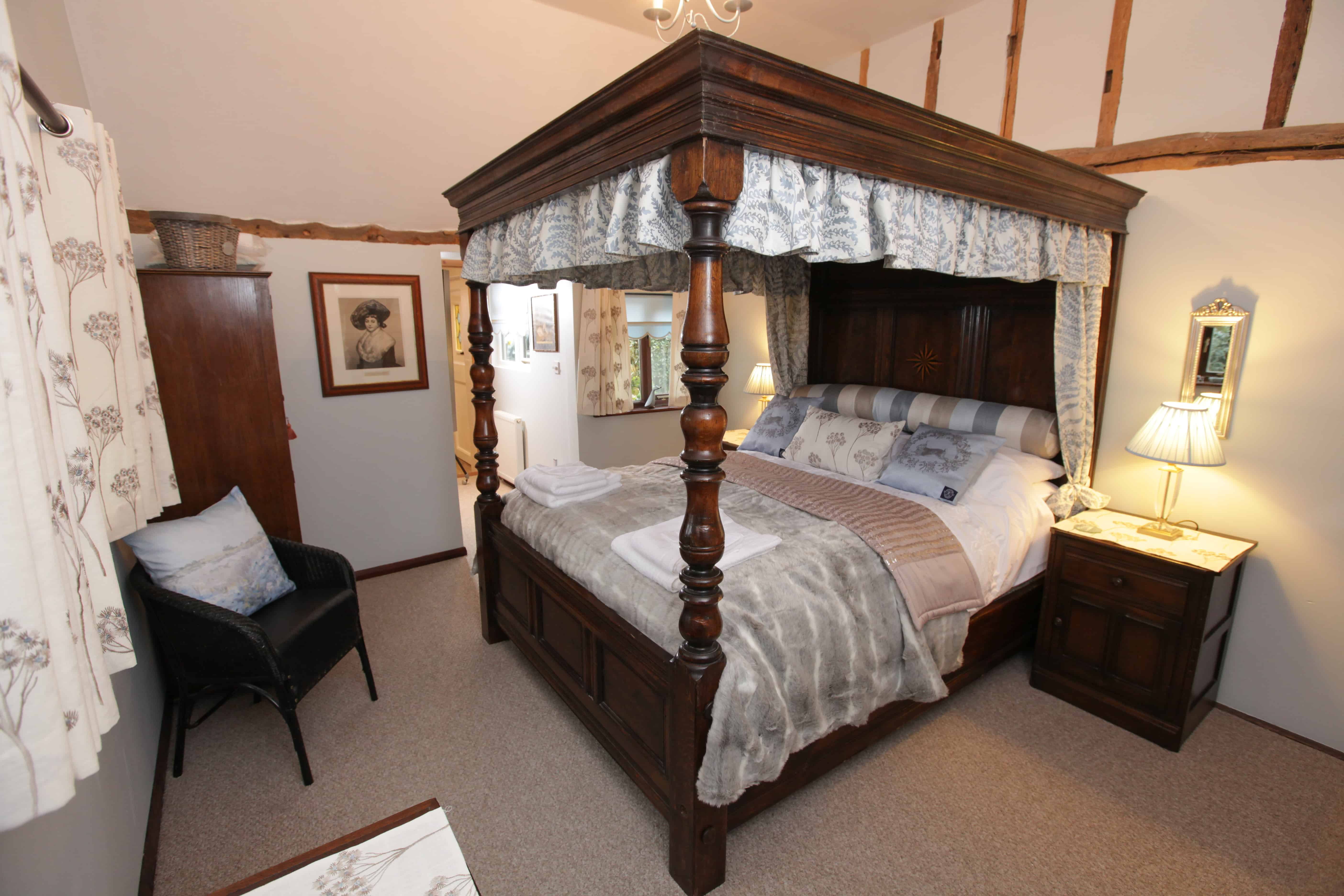 orchard cottage bedroom