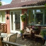 orchard cottage outside