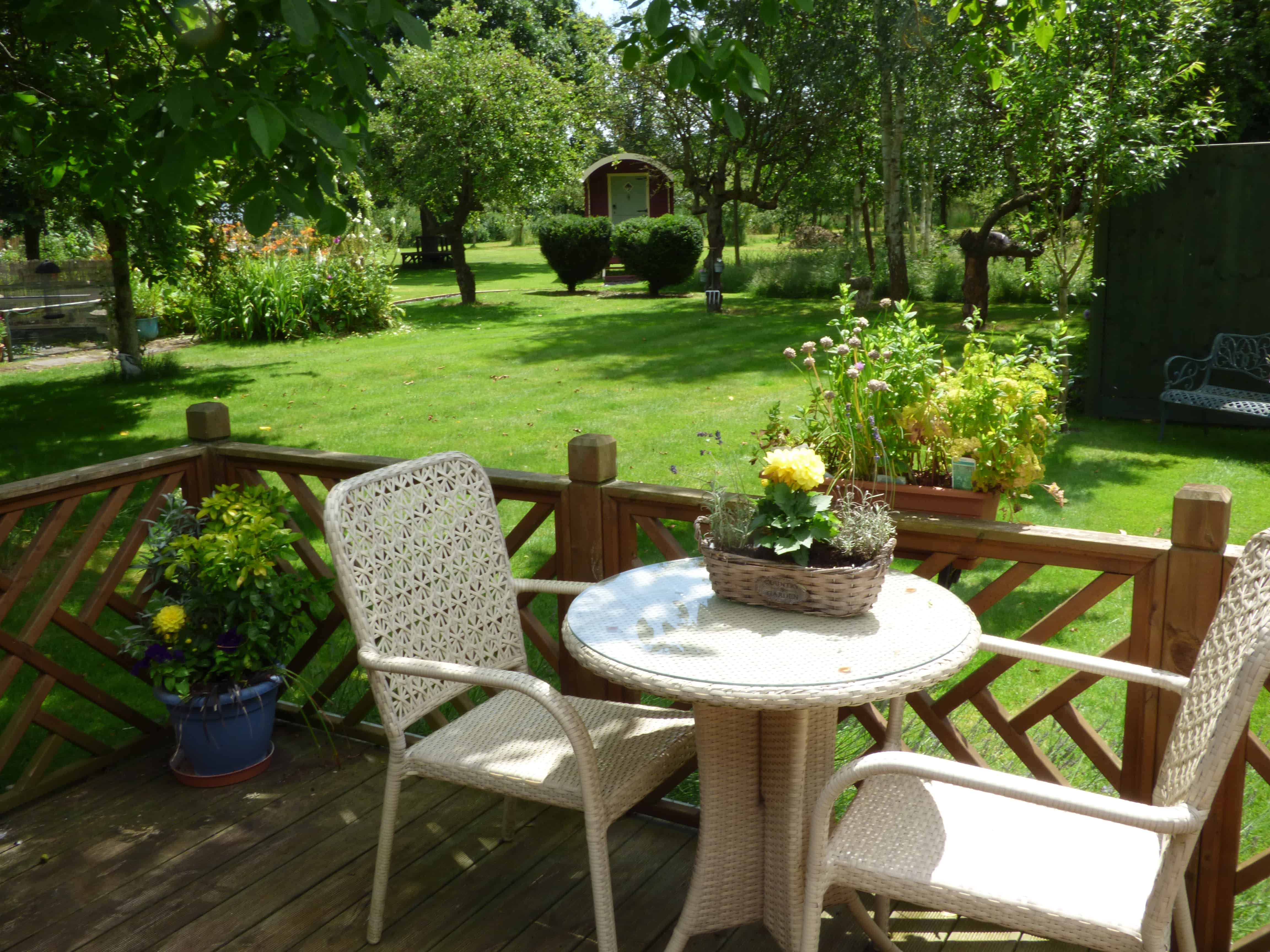 orchard cottage patio